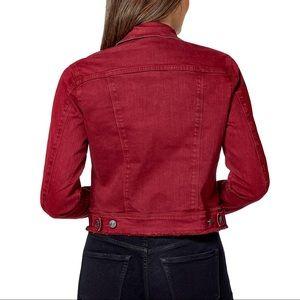 Nine West Red Denim Jacket
